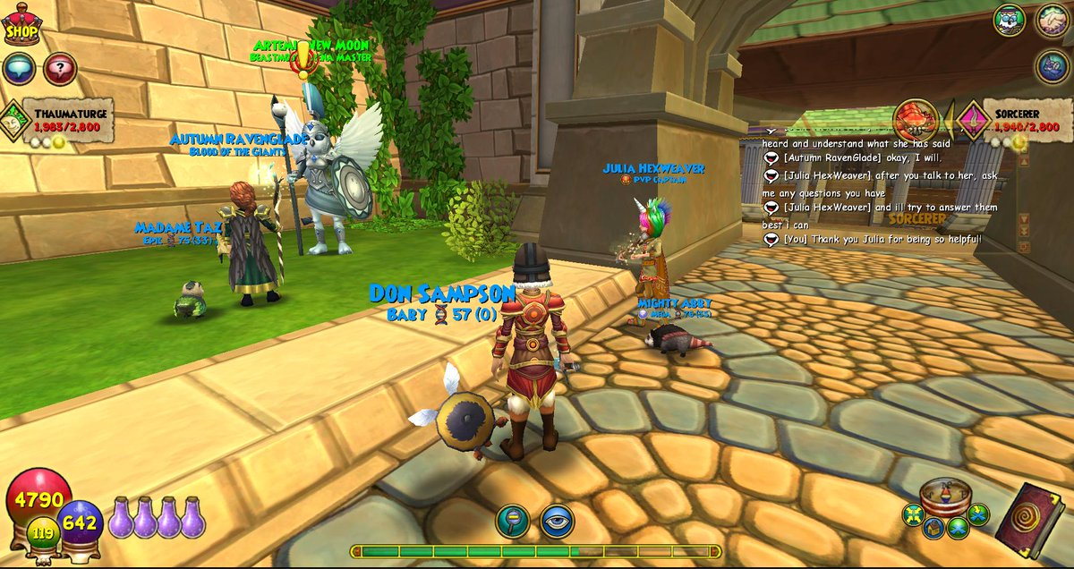 WIZARD101 on JumPic com