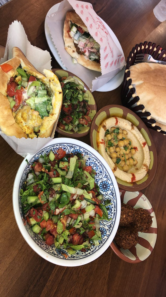 The food in Israel is amazing and a vegetarian's dream! I'm going to need to find all new Israel restaurants in NY asap. #israeleats #newfavoritecuisine #vegetarian <br>http://pic.twitter.com/JT1Vx6XFTk