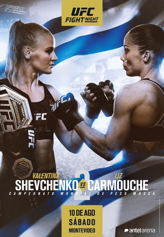 UFC Uruguay poster released: Valentina Shevchenko and Liz Carmouche rematch on ESPN+