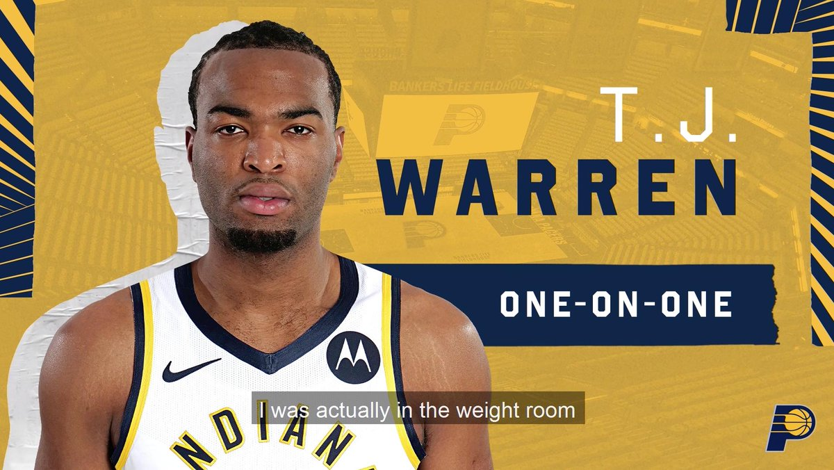 Everybody loves basketball here so Im just excited to be in a basketball environment. 1-on-1 with @TonyWarrenJr and how he found out he was moving to Indy 📹