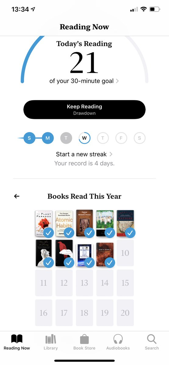Great new Books feature in iOS 13