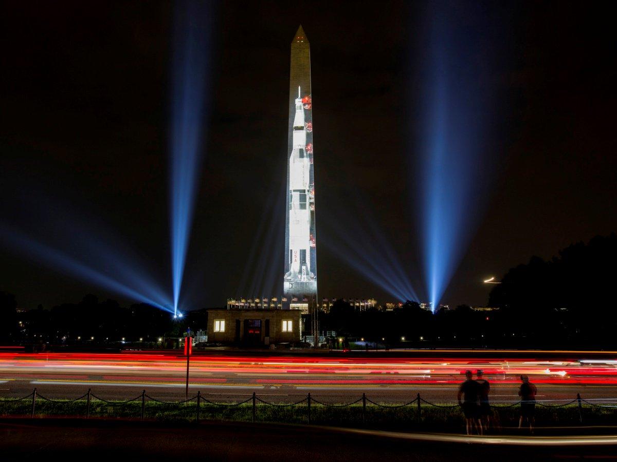 saturn rocket washington monument - HD1200×900
