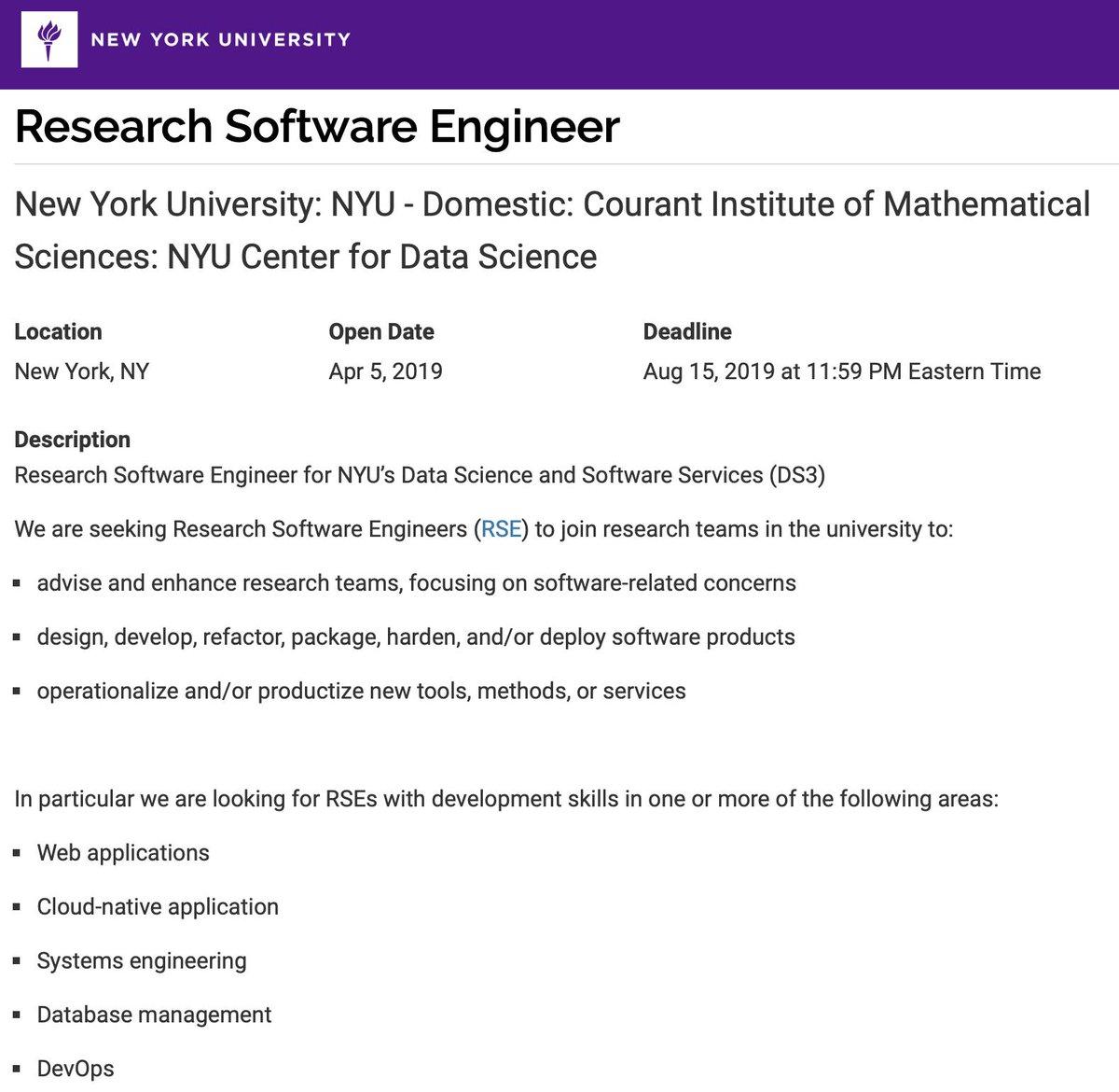 NYU Data Science (@NYUDataScience)   Twitter