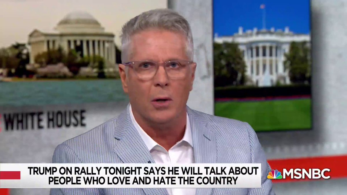 """Enough is enough.""  @DonnyDeutsch to ""wealthy white people"" who are considering voting for President Trump in 2020: ""Look at your children, and decide who you are."""