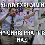 Image for the Tweet beginning: Not Star Lord Yahoo.@YahooNews #chrisspratt