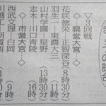Image for the Tweet beginning: 今日の埼玉高校野球試合 県営大宮は1日4試合🏟️