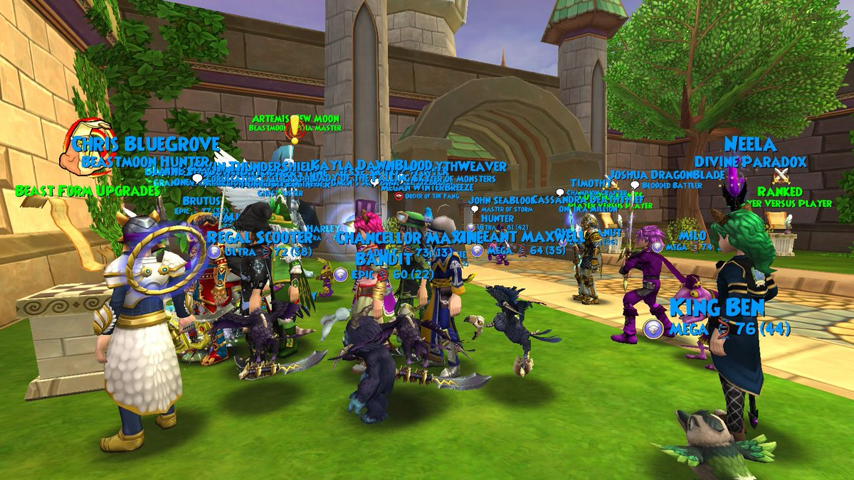 Madison : How to get a friend finder code on wizard101