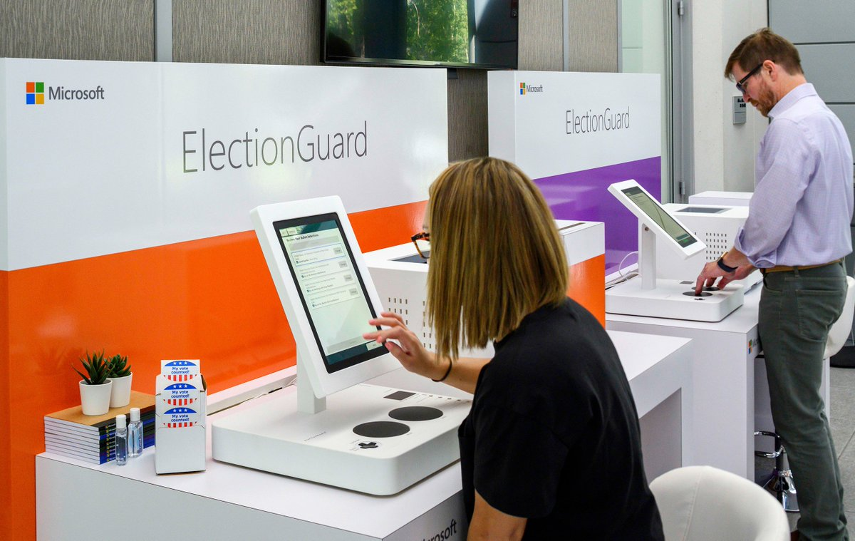 Clear Ballot is honored to be partnering with @Microsoft as they rollout their #ElectionGuard technology to improve the transparency of elections. We look forward to collaborating with them and advancing election security as a whole! Read more here: http://bit.ly/2xVlF3C