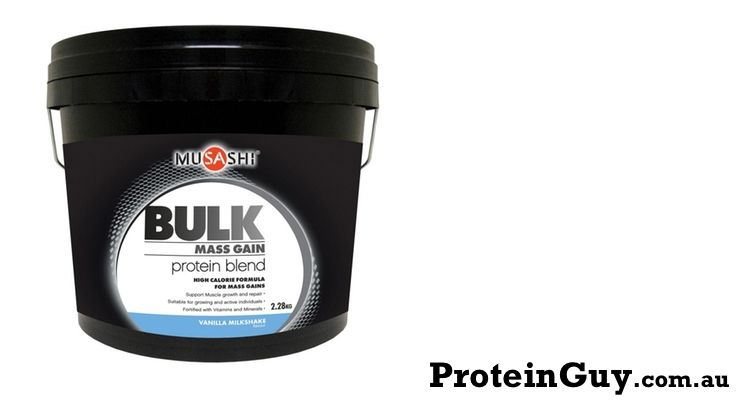 Looking to bulk up for sports?  Or just looking at maintaining your weight over the season?  Musashi Bulk might be what you need >  https://proteinguy.com.au/bulk-mass-gain-protein-blend-by-musashi/…   #protein #bulk #blend #diet #health #sports #execise #gym #muscle