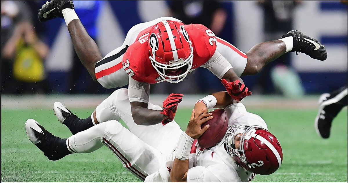 The toughest team #Alabama played in 2018? Two Tide players did  NOT answer #Clemson ....  https:// dawgs.us/2GhunOr     <br>http://pic.twitter.com/vvZ3Zaiazt