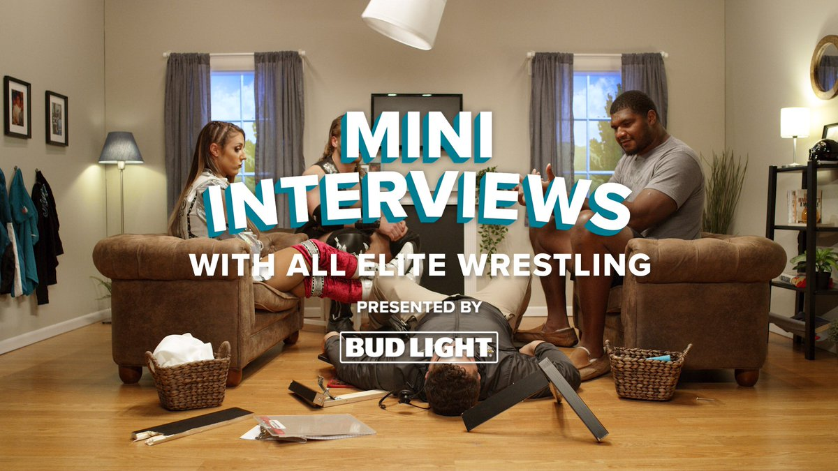 What do you think should be @CalaisCampbell's wrestling name?  Watch the full episode of Mini Interviews presented by @BudLight with @RealBrittBaker and @theAdamPage: https://jagrs.net/32zJjAR