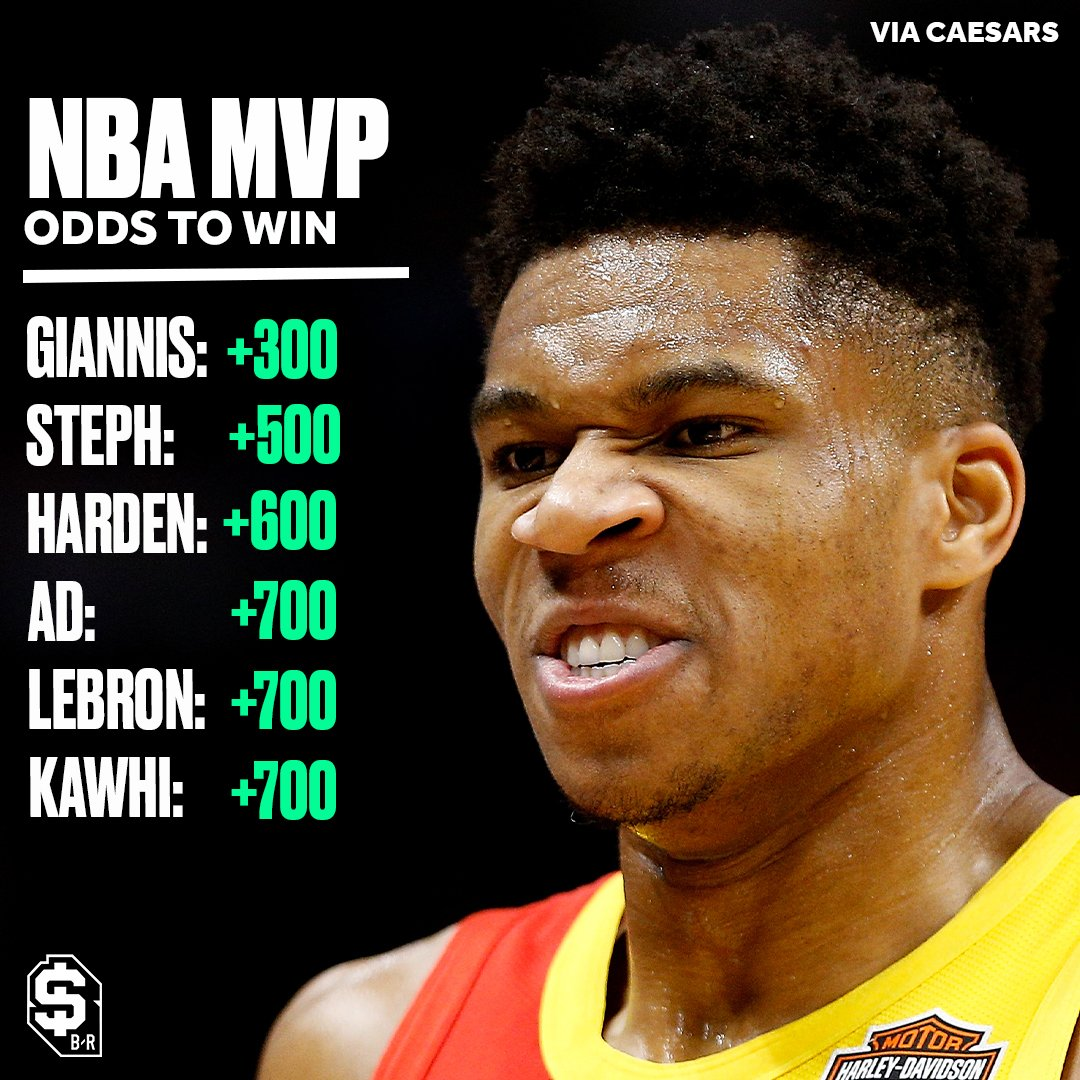Will the Greek Freak repeat as MVP? 🤔 (via @br_betting)