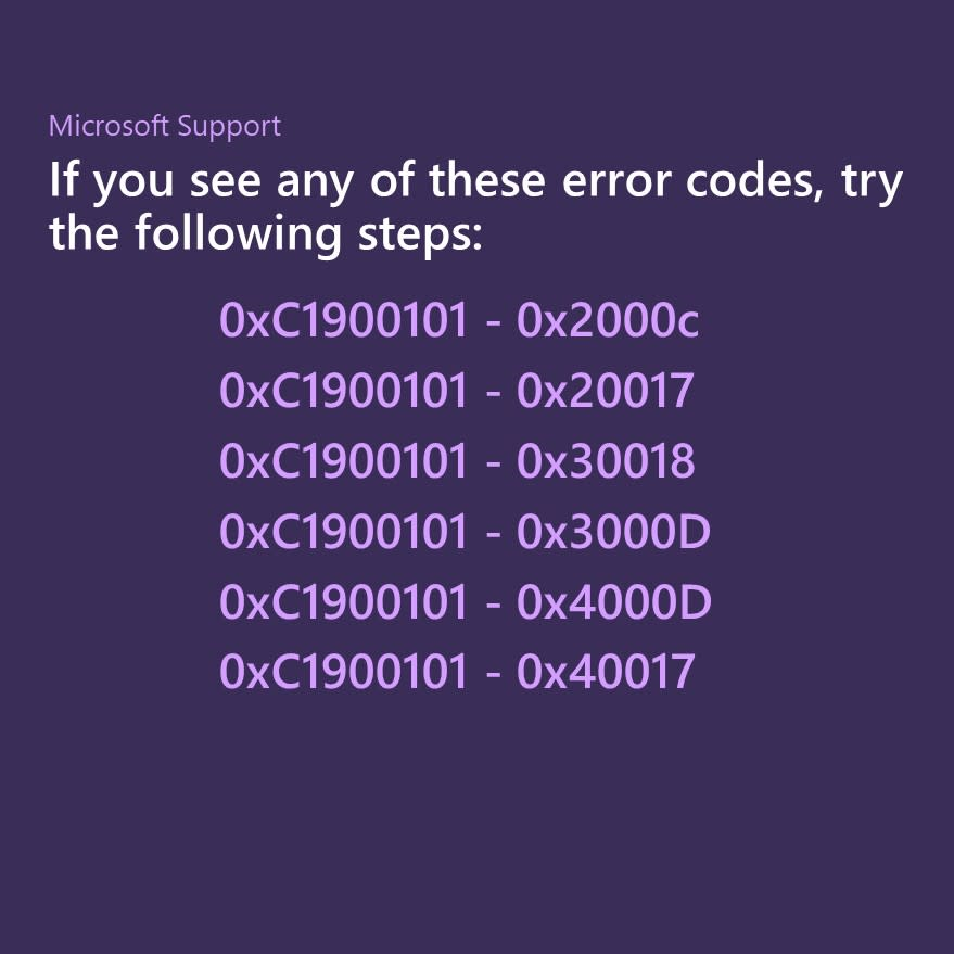 Need help with Windows 10 upgrade and installation errors?Try these steps: http://msft.social/Q1A939
