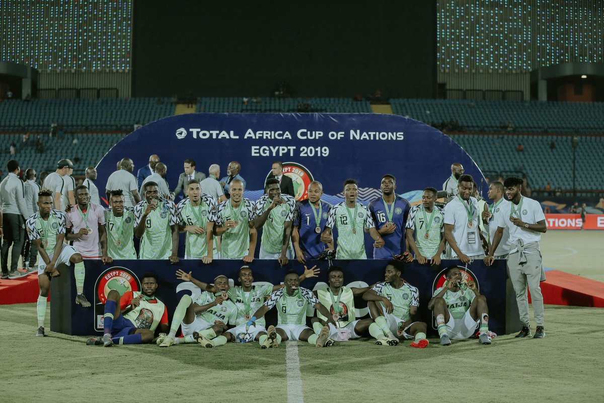 AfCON: Ighalos Goal Was Enough To See Eagles Through Third Place