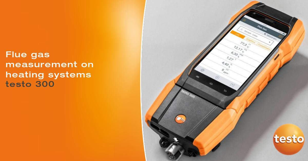 #Testo 300 flue gas analyser is supplied with O2 and CO sensor up to 4,000 ppm, Learn more: https://t.co/lU64xnjKSd https://t.co/eMdAwXVUke