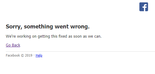 LOOK: Is Facebook down on your end? #FacebookDown