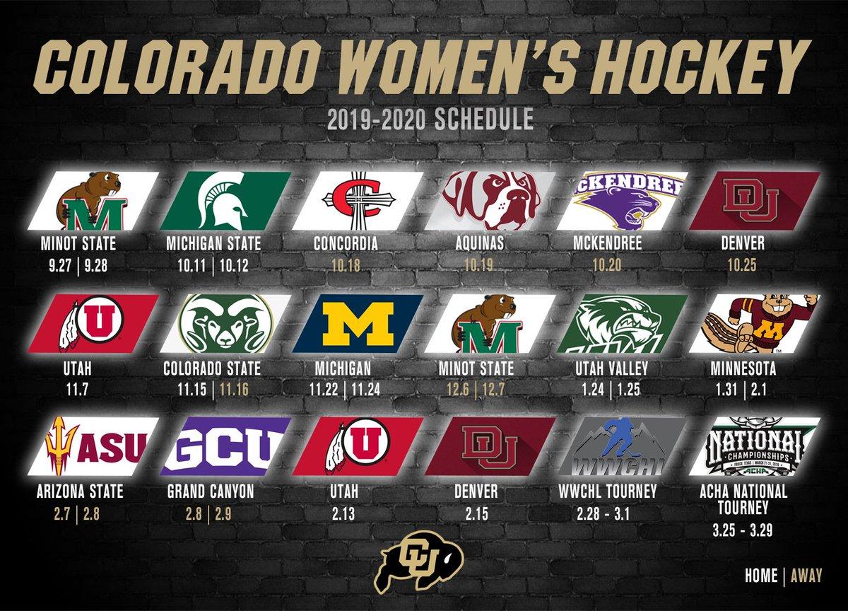 Colorado Women's Hockey (@ColoradoWHockey) | Twitter