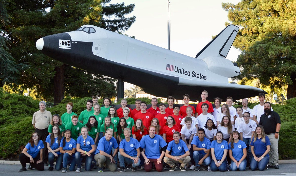 #Idaho #Science & Aerospace Scholars (ISAS) Summer Academy #students traveled to @NASAAmes yesterday to tour testing facilities & labs, & engage with @NASA professionals! So proud of our ISAS students! Thank you for hosting & engaging Idaho students, #NASA Ames Research Center!