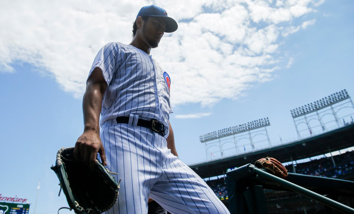 At long last, Yu Darvish earned his first win at Wrigley Field since joining the #Cubs. And his teammates have noticed a difference in him lately. He is more of an animal on the mound now, Anthony Rizzo says. bit.ly/2Z0n1Gy via @MLBBruceLevine
