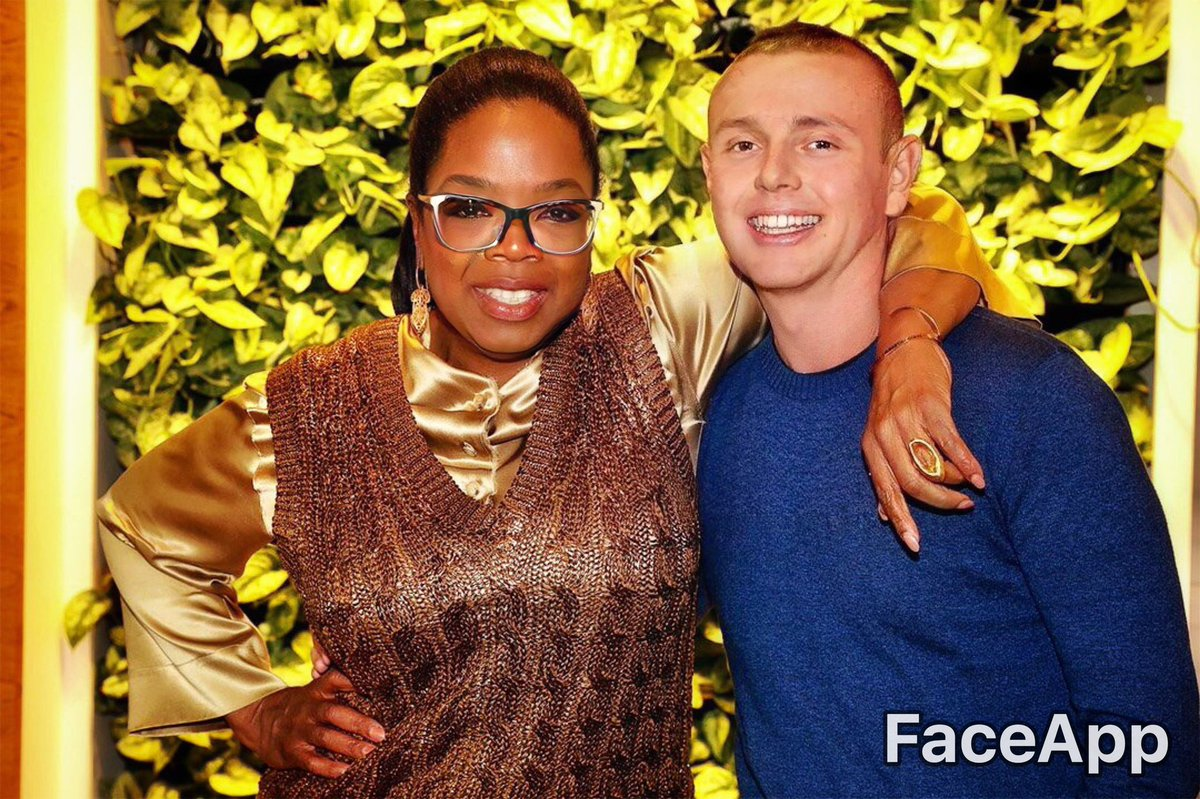 It's my birthday! I don't want to look older; I want to look younger! Don't you agree @Oprah ?  #FaceApp<br>http://pic.twitter.com/Ol3fKy9WZU