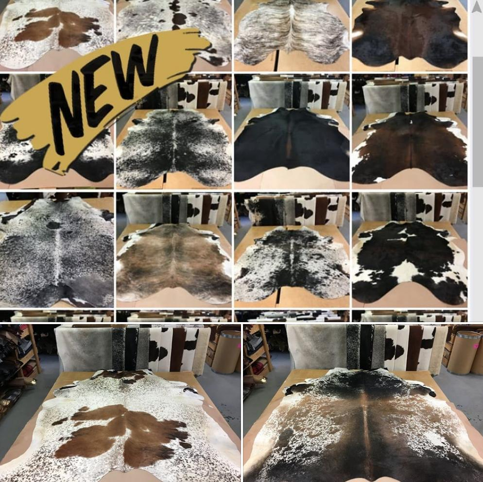 adf89985bbc04 Prices and sizes will be listed. See them here: https://urlzs.com/5QNsM  #leatheryourworld #cowhiderugs #cowhidepic.twitter.com/J4u7fEXPRn