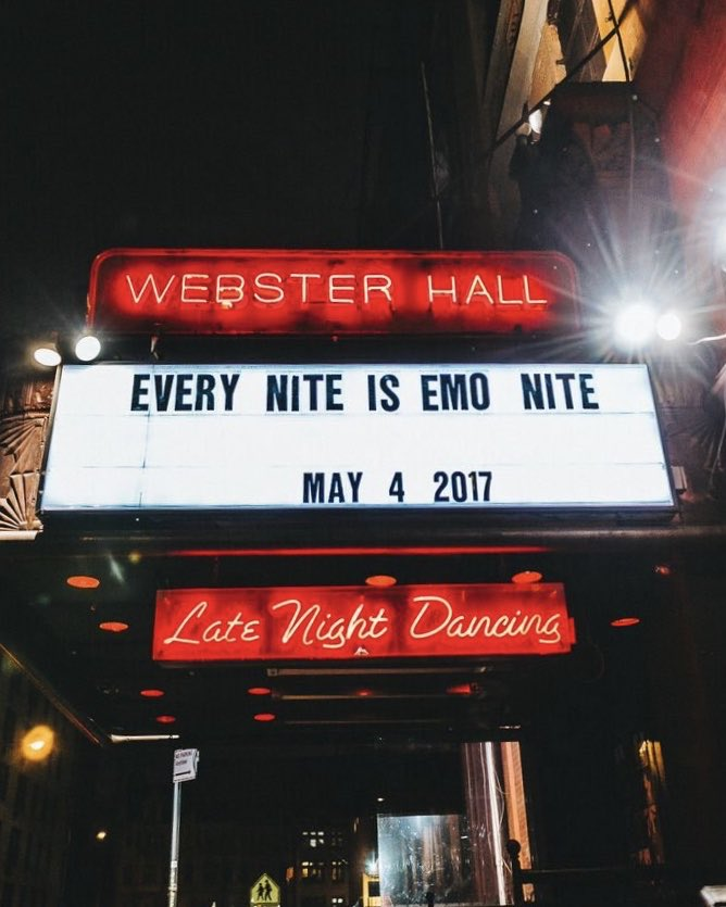 NEW YORK CITY! the world famous emo nite returns to @WebsterHall in 9 days. remember what happened last time? don't miss out, grab tix:  http:// emonite.la/nyc    <br>http://pic.twitter.com/897hgvvRyw