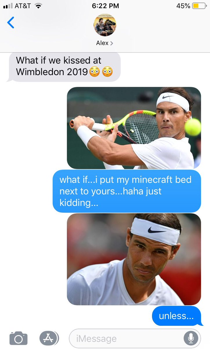 For all two of the Tennis fans who follow me. #Wimbledon19 #Nadal