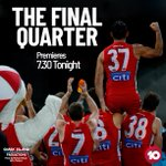 Image for the Tweet beginning: TONIGHT 7.30pm @Channel10AU   @TheFinalQtr -