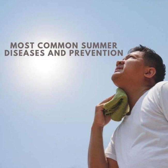 """"""" Most Common Summer Diseases and Prevention."""" Read More @ https://buff.ly/2YRADUc  #FamPhy #heart #hearthealth #bookappointment #bookanappointment #oncalldoctor #healthapp #behealthy #healthy #routinecheckup #healthcheckup #doctorathome #homevisit #doctoroncall #delhincr #ncr"""