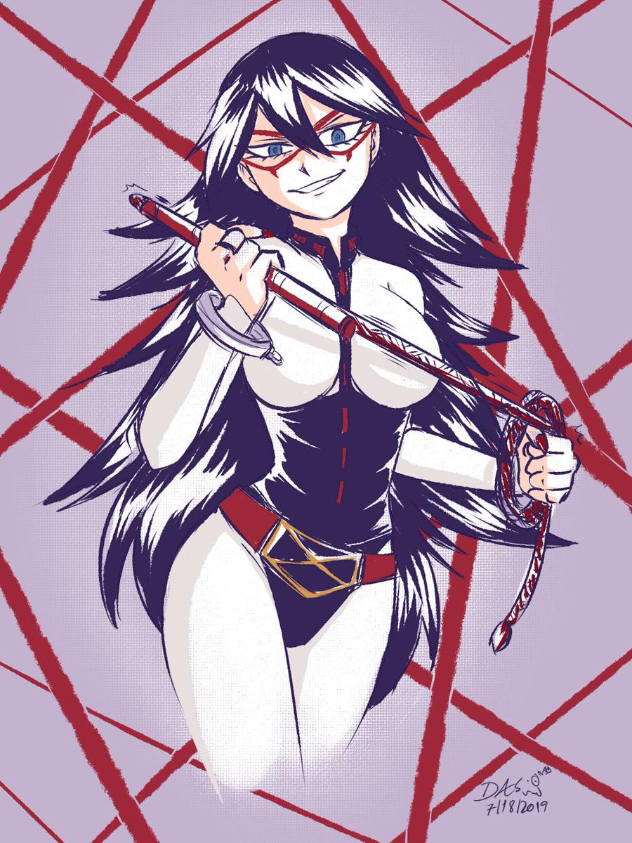 I wanted to take a break from work and the other projects. Midnight is pretty cool and sexy x3 #MyHeroAcademia <br>http://pic.twitter.com/9QnpoEsVt4