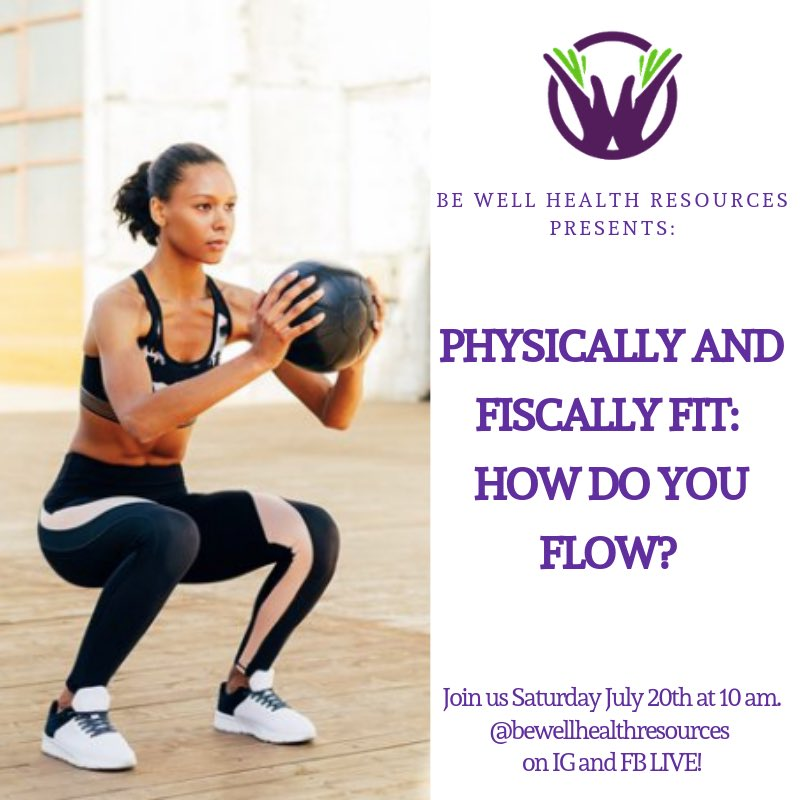 Need #help keeping it #balanced? Check in on #instagram and #Facebook @BeWellResources for our workshop on #fitness and #money.   What do you #want to #know?   #BeWell #GetBetter #holistichealth #wellness #fitness #health #BeWellHealthResources #DrKayce #Jenai #EachDayWeGetBetter