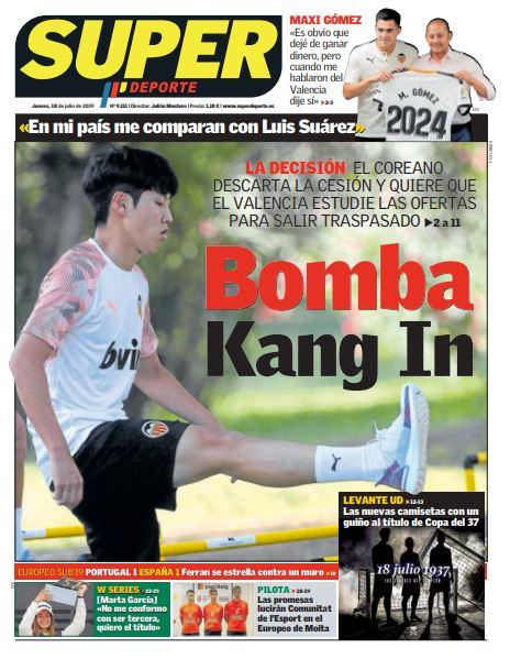 Buenos días | Bon dia 🙂 La portada de @superdeporte_es #FelizJueves https://t.co/FJw18qfYHM https://t.co/CyzzRWsULL