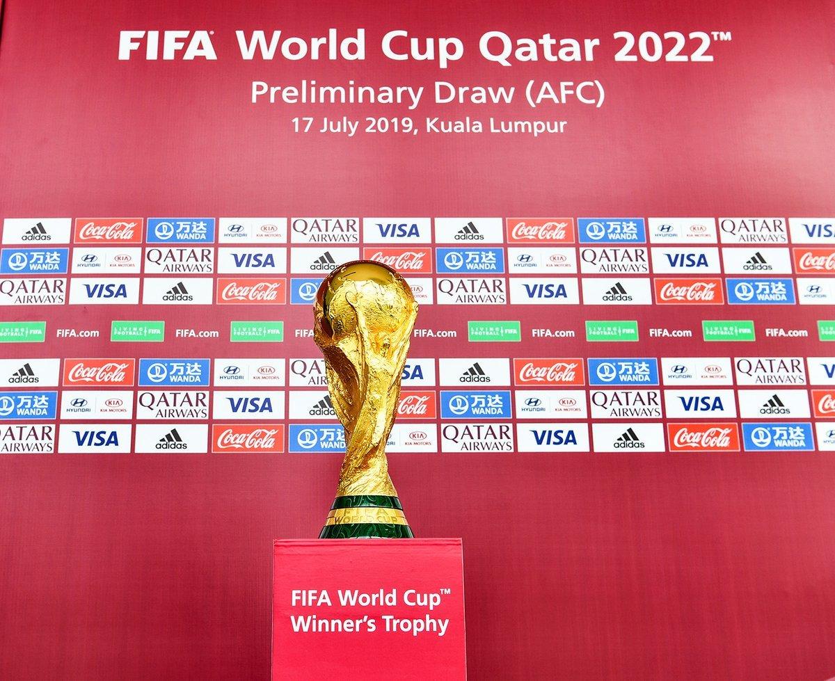 #Afghanistan Grouped With Bangladesh, India, Qatar, Oman In WC Qualifier https://t.co/jztN2C3Qhj https://t.co/qRxtJwwJQO