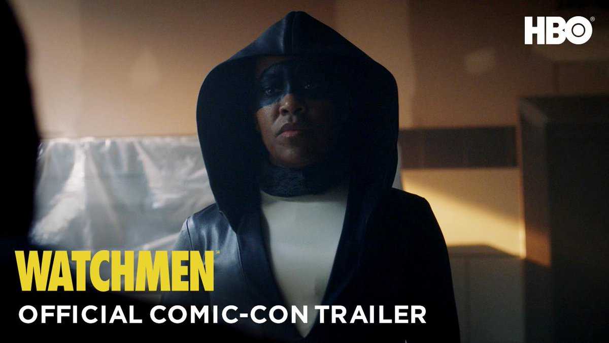 There is a vast and insidious conspiracy at play. #WatchmenHBO. October.