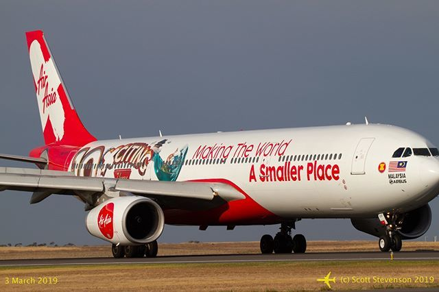 [Avalon Airshow 2019] #AirAsiaX #airbus A330-343 9M-XXF leaves #avalonairport on a regularly-scheduled flight. #avgeek #PlaneSpotter #aviation @airasia #WeMakeItFly #a330 #9mxxf #instagramaviation #avalon2019 #avalonairshow2019 #airshow