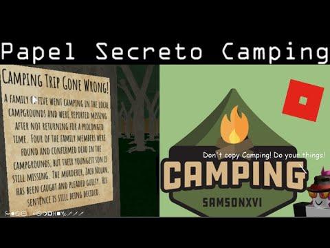 Pcgame On Twitter Como Encontrar O Papel Secreto Em Camping