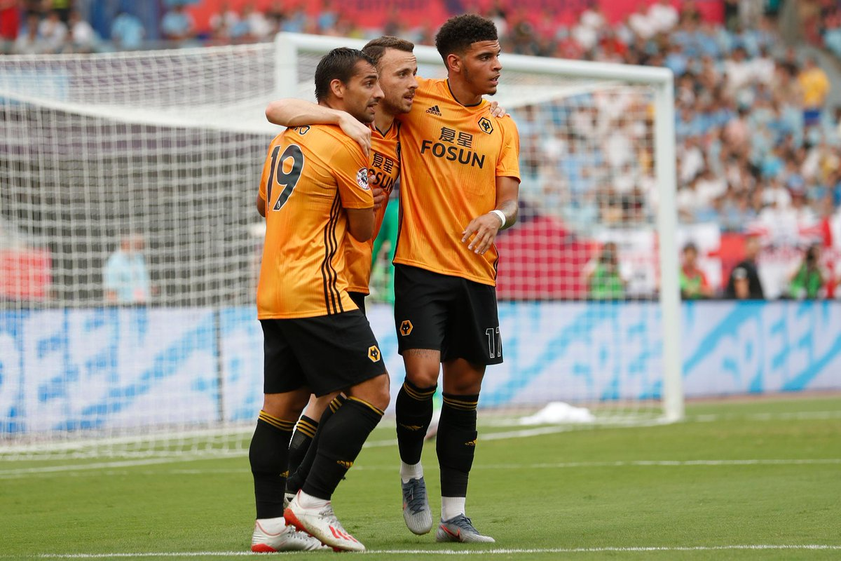A brace from Diogo Jota inspired @Wolves to victory over @NUFC in the first #PLAsiaTrophy semi-final ➡️ preml.ge/TVfmlt