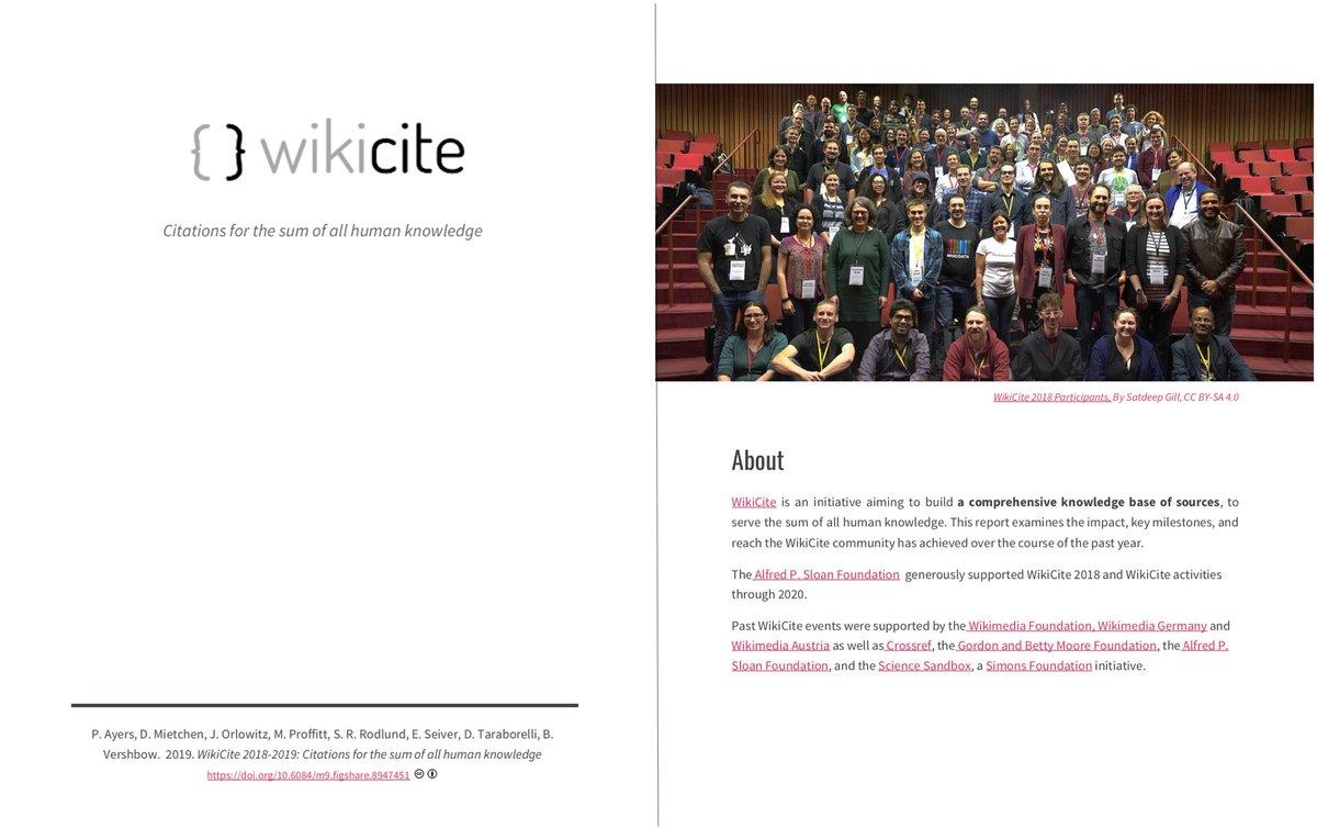 WikiCite on Twitter: