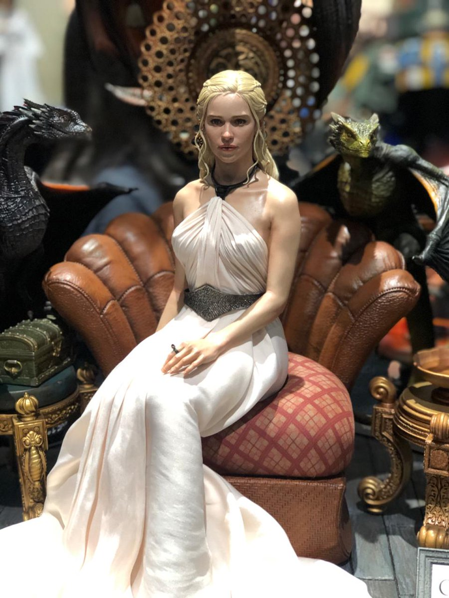 Rainha mesmo! Daenerys e seus dragões ganham colecionável na #SDCC2019 bit.ly/2YX3EOv
