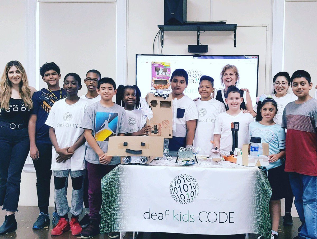 Take a good look at these innovators. They are us and we are them. Deaf Kid MAGIC 🤟🏽