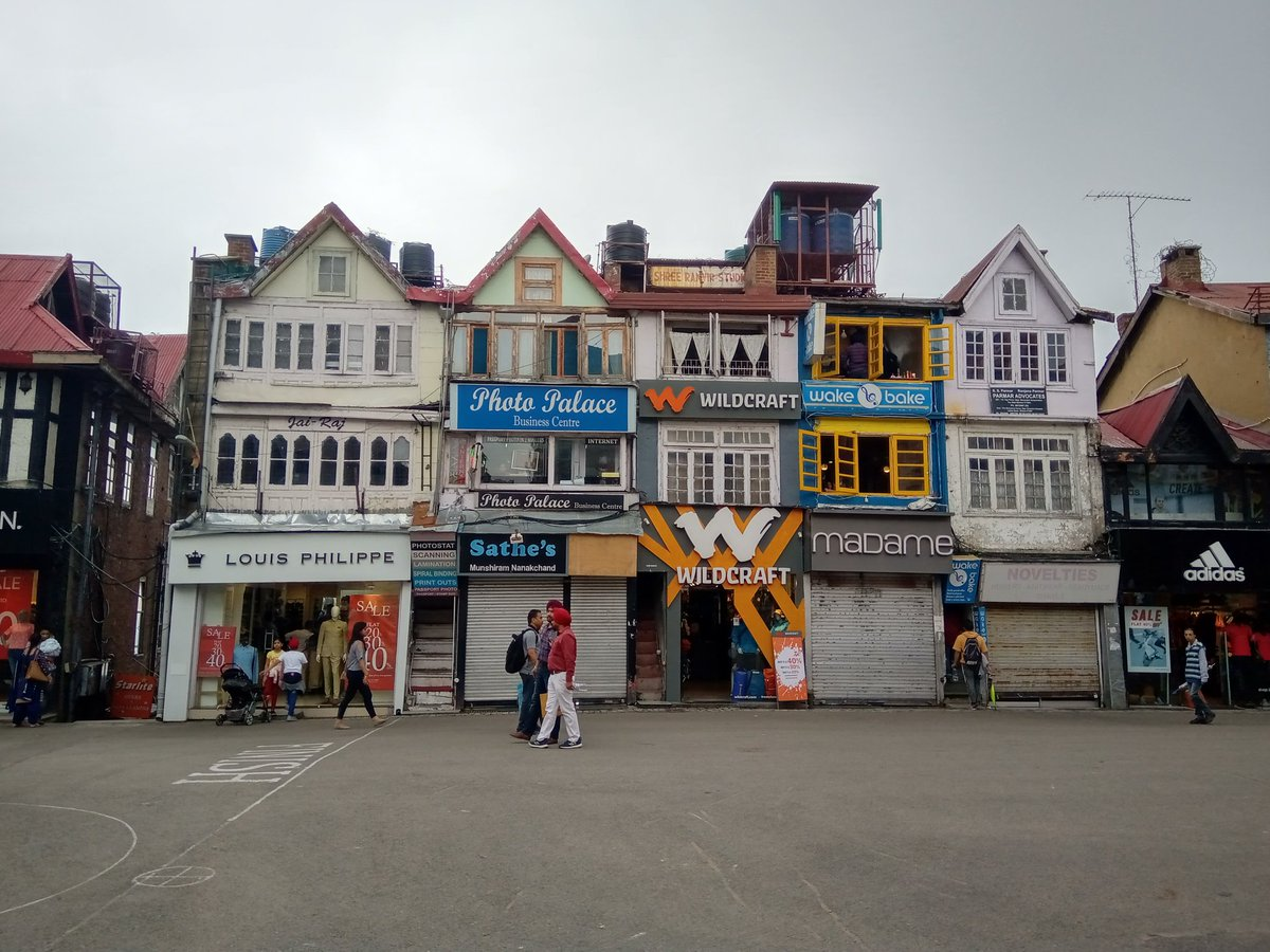 Can you believe this is #Shimla, in #india? Named as little #England by @BBC_Travel due to its architecture and the ambience you realy http://feel.like somewhere in an old #Eurooean town. Join us on a #Heritage #Walk with @SumitVashisht and know Shimla in a better way.