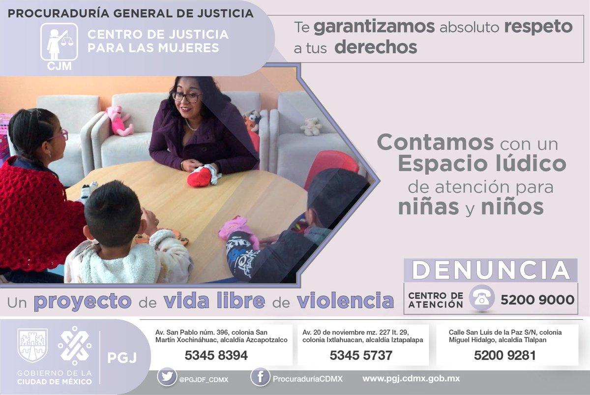 Tú y tu familia son lo más importante. Los Centros de Justicia para Mujeres son un proyecto para brindar a víctimas una vida libre de violencia