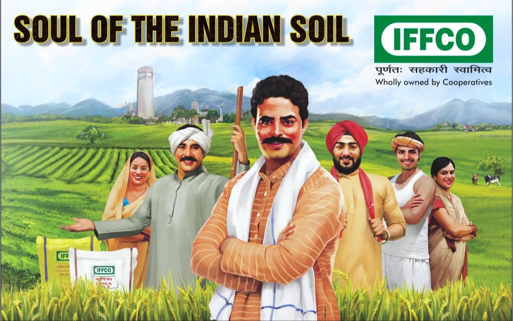 Service to farmers, growth & devp of #cooperatives in the country stands first for #IFFCO. We keep looking for ways to enhance the quality of our soils. We educate farmers to adopt balanced use of #fertilisers with mix & match of green manure, bio-fertilisers, vermicompost etc.