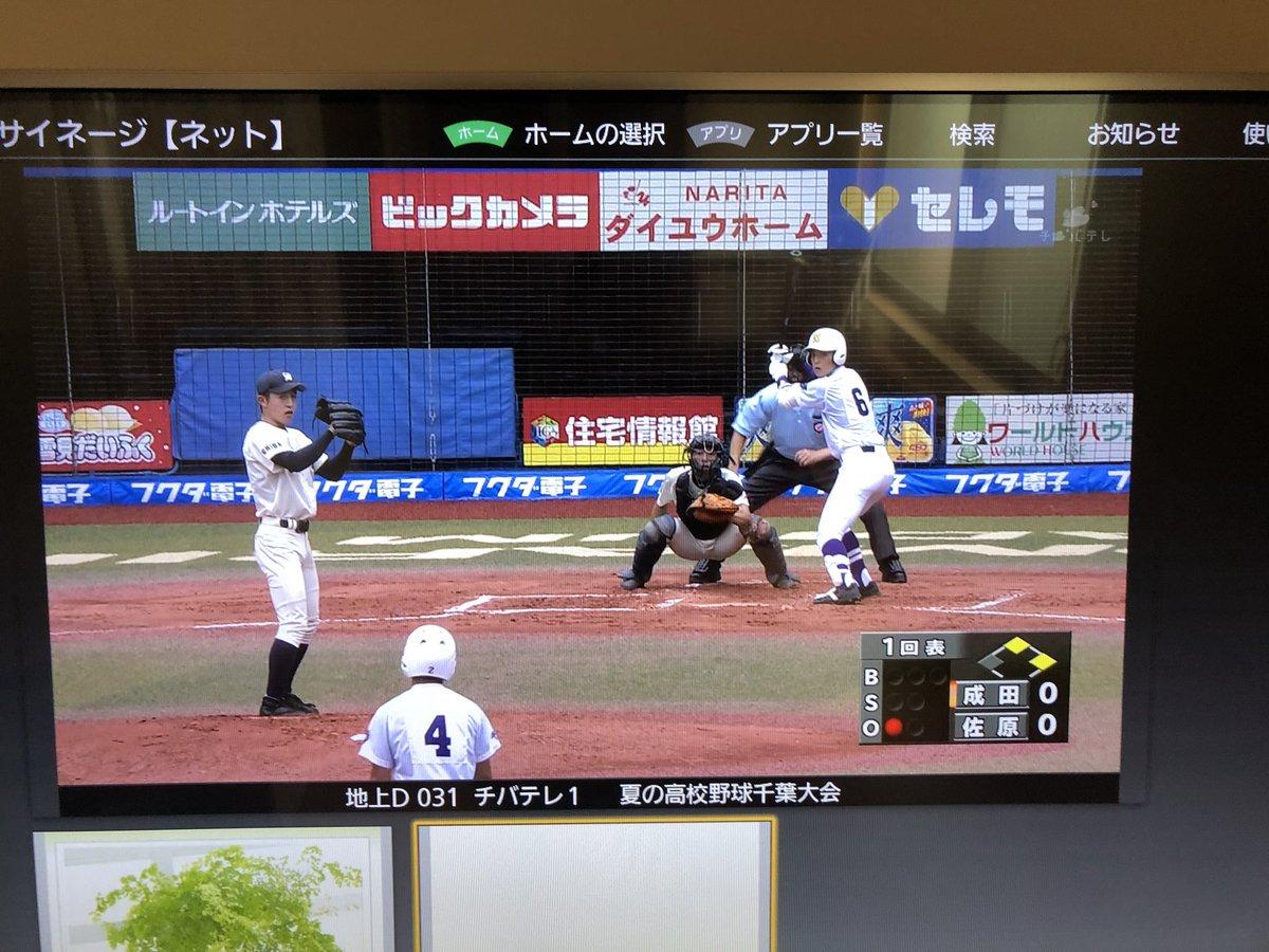 テレビ 高校 野球 2019 千葉