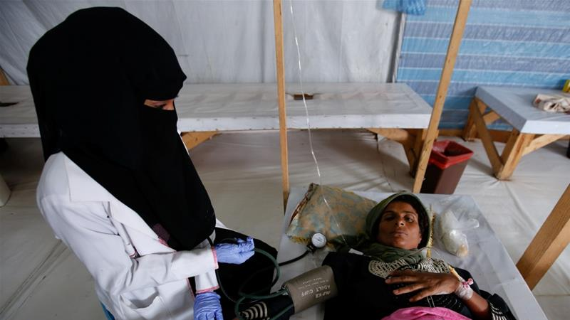 Since the beginning of the cholera outbreak, Yemen has seen close to 1.5 million cases - one of them was my mother.   https:// aje.io/p893z      — Manal Qaed Alwesabi writes for #AJOpinion<br>http://pic.twitter.com/GGpsfu2JBK