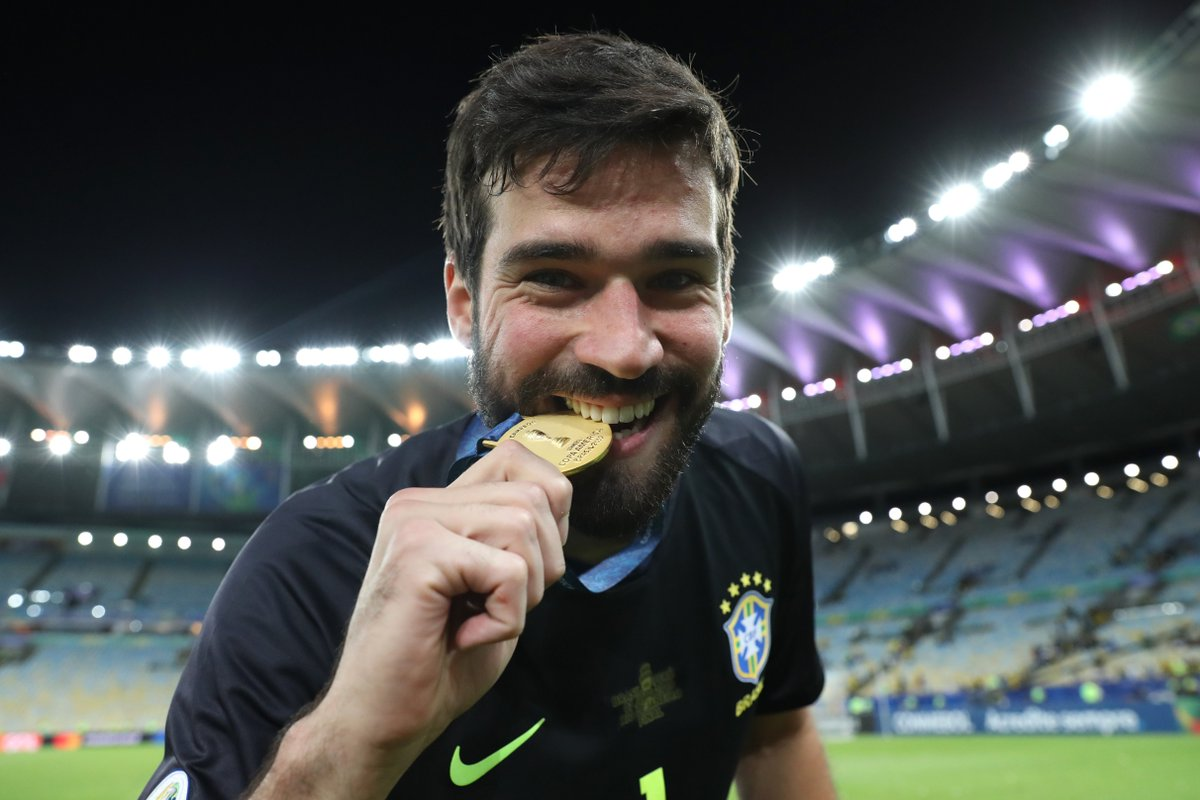 Could Alisson become just the second goalkeeper to ever win the Ballon dOr? 🏆