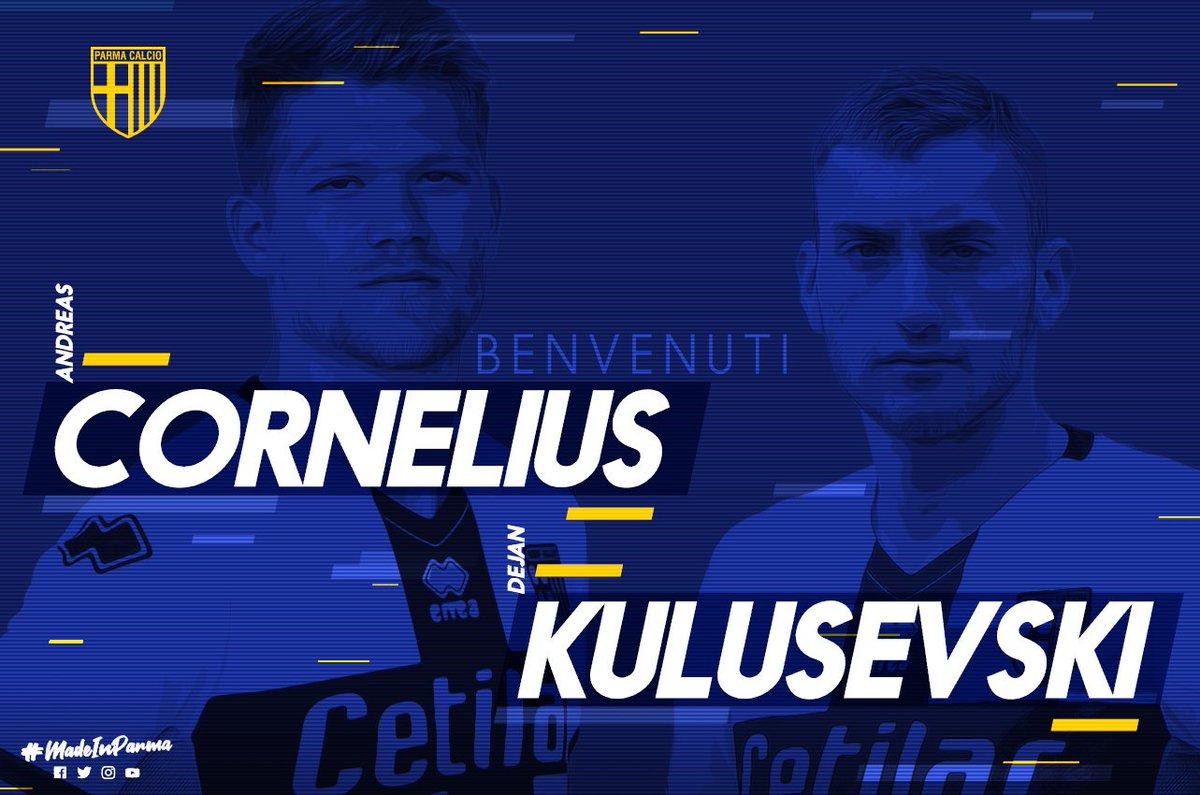 Andreas Cornelius et Dejan Kulusevski