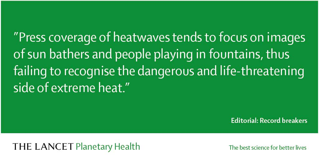 Hot off the press, our July Editorial, covering the recent spate of heatwaves https://hubs.ly/H0jRCxP0