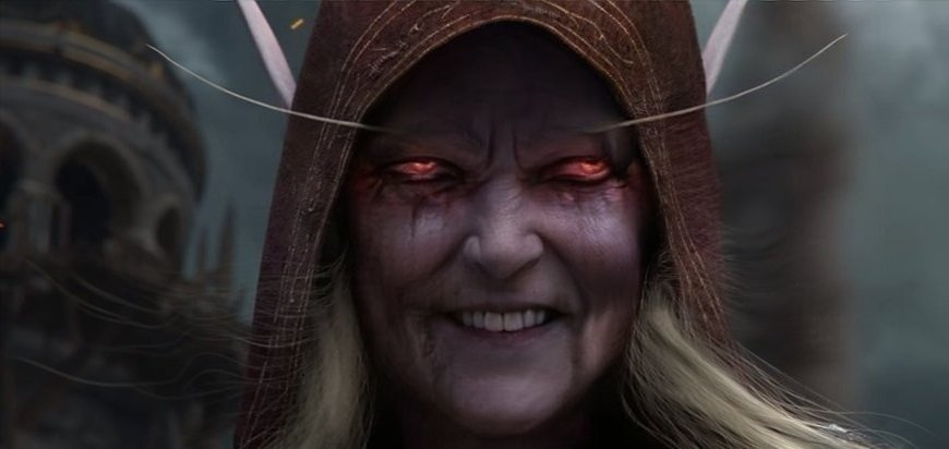 Top quality @redditwow content - Grandma Sylvanas and Grandpa Thrall. Oh and... Russell Crowe Anduin. #Warcraft   https://www. reddit.com/r/wow/comments /ce61lf/grandpa_thrall/  …    https://www. reddit.com/r/wow/comments /cec4i0/i_see_your_grandpa_thrall_and_i_give_you_this/  …    https://www. reddit.com/r/wow/comments /cdy7cg/if_king_anduin_lives_to_his_70s/  … <br>http://pic.twitter.com/0987u4U9mY