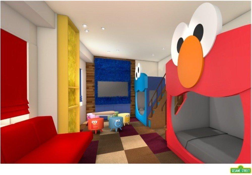 """USJ新公式ホテルに""""スヌーピー""""や""""セサミストリート""""客室が登場『ジュラシック・ワールド』車型ベッドも -"""